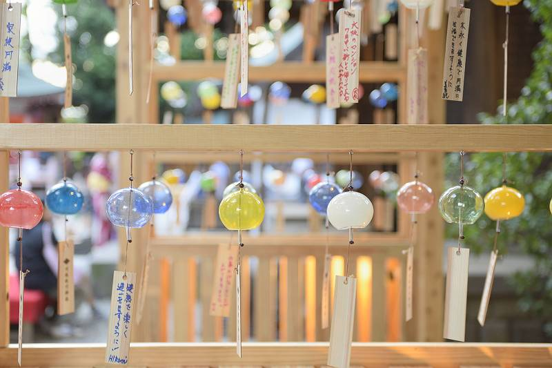 氷川神社 縁結び風鈴